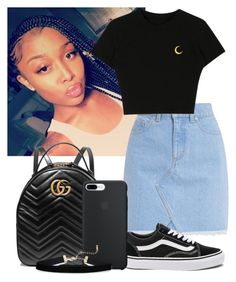 """Untitled #255"" by fashionqueenforevs on Polyvore featuring Gucci and Vans"