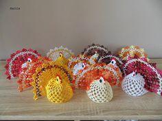 Crochet Earrings, Strawberry, Easter, Crochet Angels, Hens, Bunnies, Handarbeit, Easter Activities, Strawberry Fruit