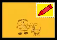 Blue's Clues Joe Letter Draw Along With Blue With A Crayon Stamp. Blues Clues, Stamp, Draw, Lettering, Room, Bedroom, Stamps, To Draw, Sketches