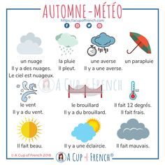 To Learn French Kids Learning Videos Grade 1 French Flashcards, French Worksheets, French Language Lessons, French Lessons, Spanish Lessons, French Phrases, French Words, Teaching French, Teaching Spanish
