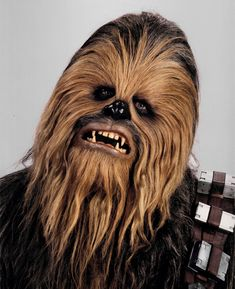 Chewbacca - my favorite Star Wars character. After Yoda. And Han Solo.and Obi Wan Kenobi.Oh heck I love them all! Chewbacca, Ewok, Star Wars Characters, Star Wars Episodes, Fictional Characters, Starwars, Star Wars Disney, Gangster Style, Nail Art