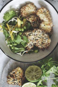 Opskrift på (asiatiske) sunde nuggets som skal bages i ovnen 2