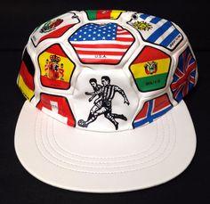 """SOCCER BALL""HAT World Flag National Countries Futbol Fan Cup Olympic Men/Women #Dyot #BaseballCap"
