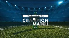 Although people know that Heineken is the main sponsor of the UEFA Champions League, they don't watch the game with Heineken in hand. We tapped into fans' match day rituals to make getting Heineken a natural part of their behavior. Total amount of video views: 285 million. Total reach of content: 2.8 billion.