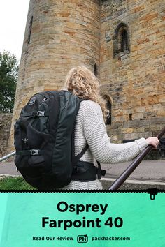 We've been testing the Osprey Farpoint 40 Travel Backpack for over a year and love the durability, carry, and hideaway harness system. Best Travel Backpack, Travel Bags, Osprey Farpoint, Backpack Reviews, One Bag, Digital Nomad, Dominican Republic, Minimalist, Backpacks