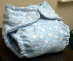 Once you know how to sew cloth diapers you can ditch the pricey disposable diapers and make adorable cloth diapers instead. Check out this project for how to sew a fitted cloth diaper. Your baby will be comfy and you'll be saving money.-- @Liz Mester Perry Reynolds