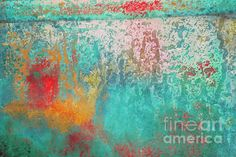 """Rainy Dapple"" ...enhanced photographic print..."