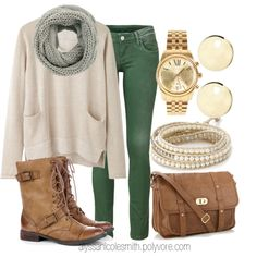 """Casual Saturday Look- Perfect for finishing your Christmas shopping!"" by alyssanicolesmith on Polyvore"