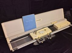 Silver Reed Electronic Knitting Machine Package SK 860 + SR 860 + PE1 + EC1  #SilverReed