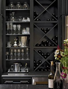 10 Built-In DIY Wine Storage Ideas