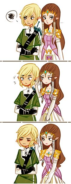 animal instincts by pekobukis<<<<His ears actually droop lol is that possible with Hylian ears can you do that