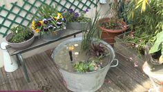 """Résultat de recherche d'images pour """"bassin de jardin recuperation"""""""