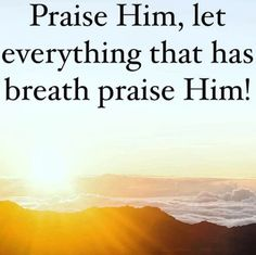 Praise God, Let It Be, God