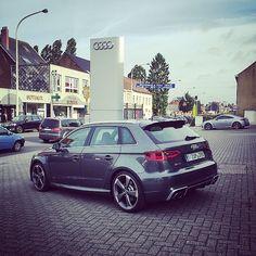 #Caroftheday #Audi #RS3 #New #SawaCenter Waterloo Belgium, Audi Rs3, Bmw, Instagram Posts