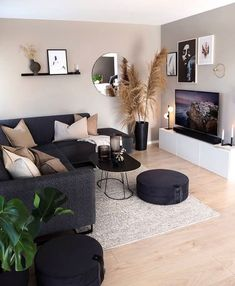 25 Modern Living Room Design Ideas From Different Countries/Lounge Room Decor of Apartment Residents - We have created a gallery of 32 pictures that show you how modern residents of different countries -