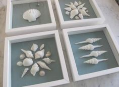Craft projects with shells shadow box ideas Craft projects with shells shadow box ideasYou can find Shell crafts and more on our websit. Seashell Art, Seashell Crafts, Beach Crafts, Diy And Crafts, Shadow Box, Seashell Projects, Shell Decorations, Decoration Crafts, Ideias Diy