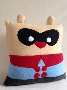 Bucky Bear Pillow