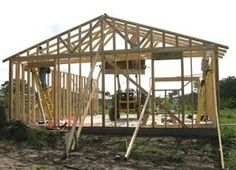 When viewing a framed house before the wall coverings are installed, the building often seems complicated and to some, a daunting project. House framing act
