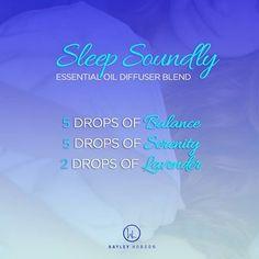 "Diffuser blend doTERRA ""Sleep Soundly"""
