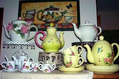 Teapots and Tea cups