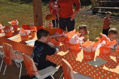 fall kids birthday party - Google Search