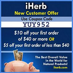 - Info about the iHerb vouchers    - Tips for the first time customers - iHerb Discount Tips:    - International - Iherb countries list