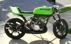 Kawasaki KH250 triple custom