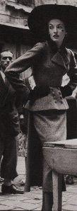 Balenciaga suit, 1948