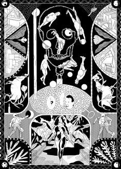 Illustration by Olivier Schrauwen.