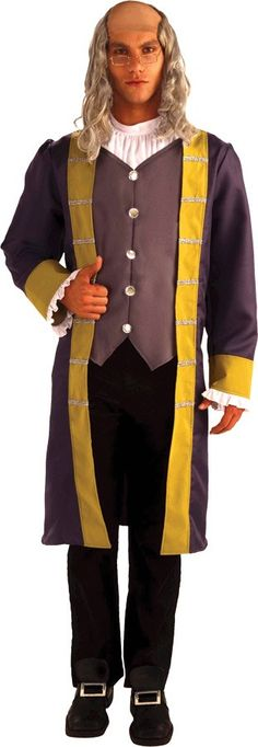 Cool Costumes Ben Franklin Adult Costume just added...