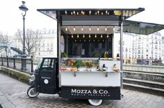 Mozza & Co, Paris. - the mozzarella truck