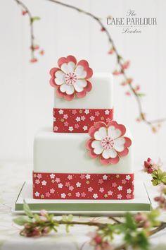 Oriental Blossom cake