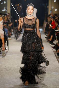 "Lady Kitty Spencer and British Model-Aristos Walk Dolce & Gabbana's ""Secrets & Diamonds"" Show in Milan"
