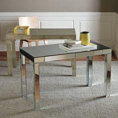 Parsons Mirror Desk - modern - desks - West Elm