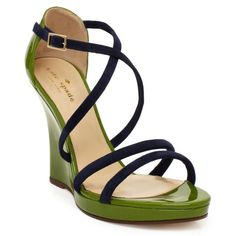 kate spade | vanessa strappy wedge sandals