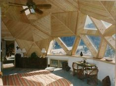 Geodesic dome homes...low construction costs, low energy costs, make your interior space more interesting!