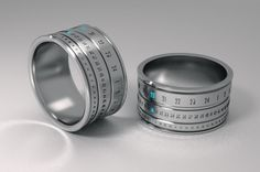 I don't wear rings or a watch, but if I did, I would wear this ring clock
