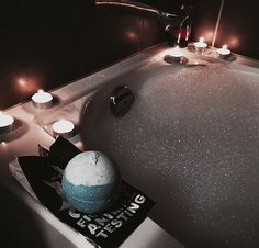 Relaxation: A warm bath after a very long day is always much needed! Bubbles, essential oils, and candles are apart of my routine when I need time to myself! Lush Bath Bombs, Lush Cosmetics, Chill Pill, Lush Products, Relaxing Bath, Just Relax, Bathing Beauties, Bubble Bath, Perfume