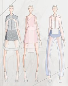 CAD Collection by Oliver Zachary Selby, via Behance