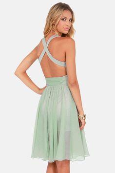 Blaque Label Fall Into Grace Sage Green Dress at LuLus.com: Mint Bridesmaid