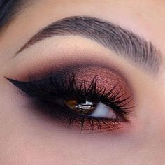"""1,226 Likes, 8 Comments - Doll 10 beauty (@doll10beauty) on Instagram: """"Look at those Doll eyes @claudiayvette lined and defined in our 2thepoint liner ❤ #love #eyes…"""""""