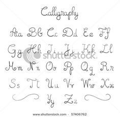 Straightforward Suggestions How To Draw Cool Letters Easy Easy Cool Letter Fonts To Draw Calligraphy Fonts Alphabet, Handwriting Alphabet, Hand Lettering Alphabet, Letter Fonts, Monogram Fonts, Script Fonts, Typography, Pretty Fonts Alphabet, Cool Handwriting Fonts