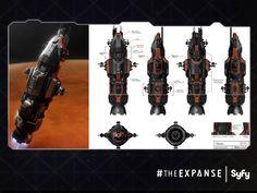 The Expanse ship sketches - Album on Imgur
