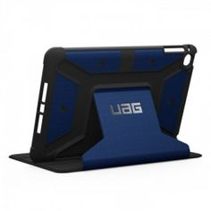 UAG-IPDM4-CBT-VP - Urban Armor Gear iPad Mini 4 Cobalt (blue) ruggedised protection case from UAG meets military drop test standards by being MIL STD 810G 516.6 compliant and offers incredible protection for your #Apple #iPadMini4.  Whether you use your iPad for #work #leisure or #gaming - you can stay protected whilst looking stylish.