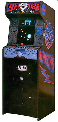 Sinistar Arcade Game - (1983) - #oldschool #retrogaming #arcade