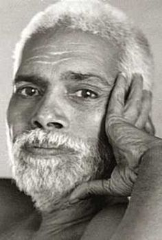 """Ramana Maharshi  December 1879- April 14, 1950. He became self-realized at the age of 16. He became known for posing the simple question to his followers: """"who Am I?"""" Today he is widely regarded as one of India's foremost Hindu saints of the last century."""