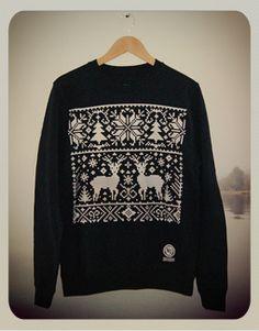 NU Apparel: Ltd Edition Christmas Sweatshirt (New French Navy)
