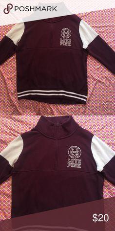 Pink sweatshirt Pink sweatshirt size XS PINK Victoria's Secret Tops Sweatshirts & Hoodies