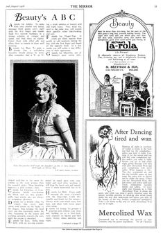 Beauty tips from 1926 part 1