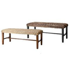 Andres Seagrass Bench : Target Mobile